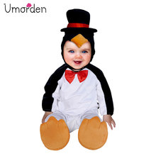 Umorden Carnival Halloween Costumes Toddler Infant Baby Animal Penguin Costume Cosplay for Girl Boy Fancy Dress Jumpsuit