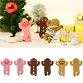 ETC-Gingerbread Man Earphone Cable Wire Headphone Winder Cord Smart Wrap Organizer
