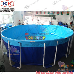 Large household support PVC pool customization Environmentally friendly materials to quickly install the pool