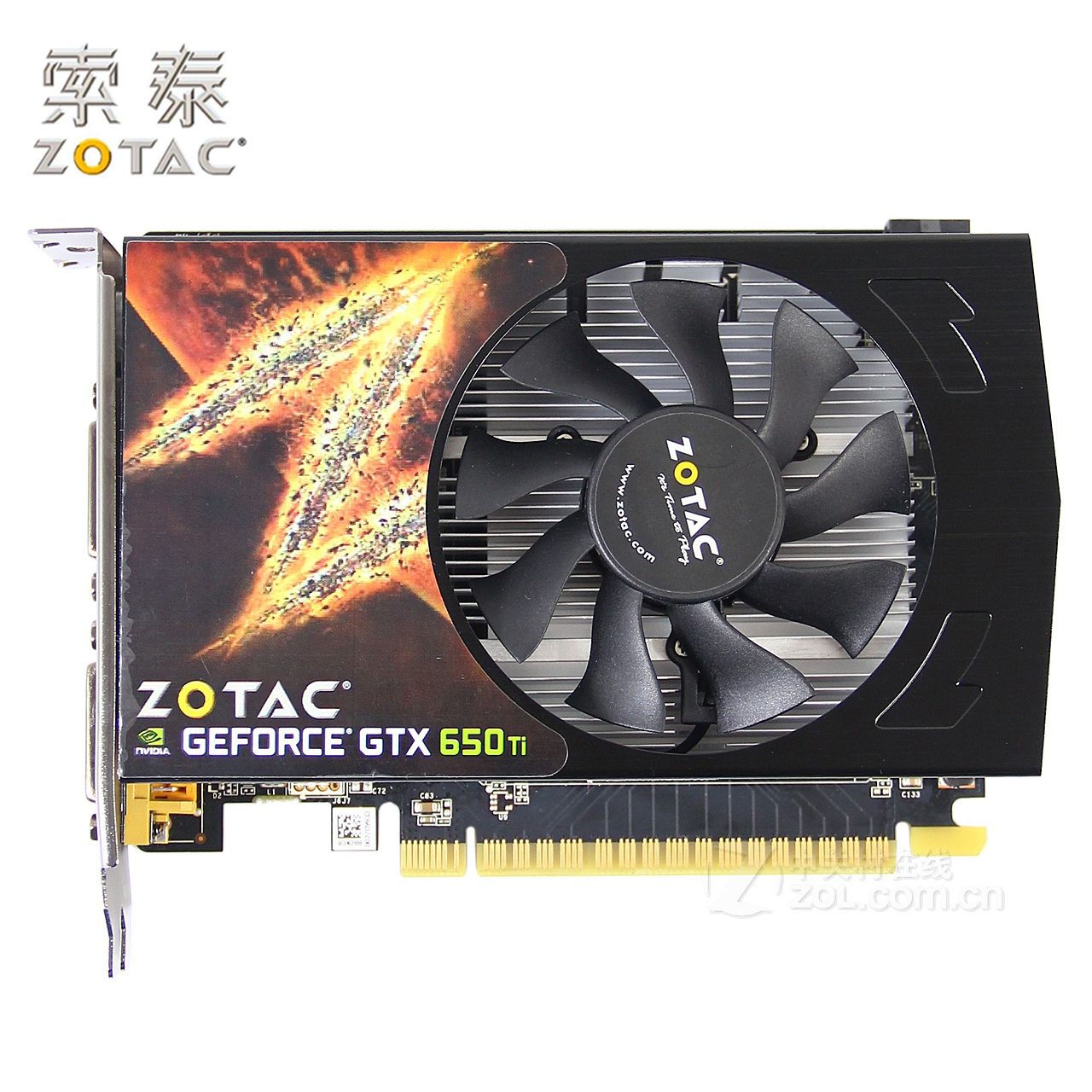 Original ZOTAC Video Cards GeForce GTX650Ti-1GD5 Thunder PA 1GB GDDR5 Graphics Card For NVIDIA Map GTX 650Ti GTX600 1GB Hdmi Dvi