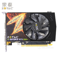 Original ZOTAC Video Cards GeForce GTX650Ti 1GD5 Thunder PA 1GB GDDR5 Graphics Card For NVIDIA Map