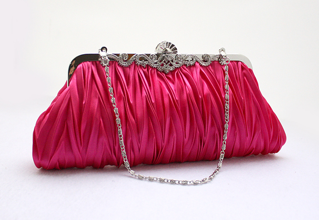 Fold package Clutch handbag evening bag