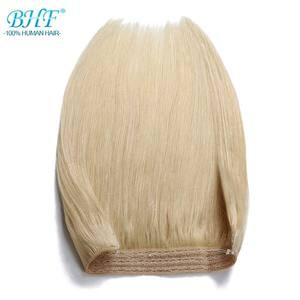BHF Halo Hair Human-Hair-Extensions Straight in 110g One-Piece-Set Fish-Line Machine-Made