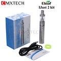 Ismoka eleaf ijust kit 2 30 w-80 w 2600 mah bateria cigarro eletrônico 5.5 ml 0.3ohm Atomizador Tanque i apenas 2 E Hookah Vape iJust2