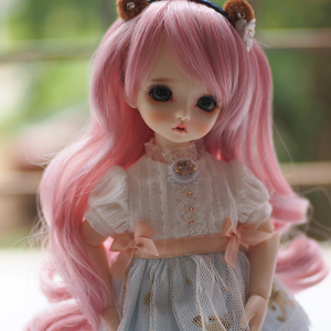 1/3 1/4 1/6 Bjd Wig High Temperature Wire Wavy Beautiful Fashion Style Wig For BJD Doll Hair Wig