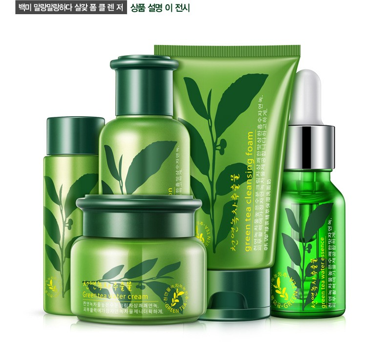 Skin Care Set Whitening Moisturizing Face Cream Essence Lotion Acid Liquid Anti Wrinkle Eye Cream Facial Day Cream 5pcs/lot 13