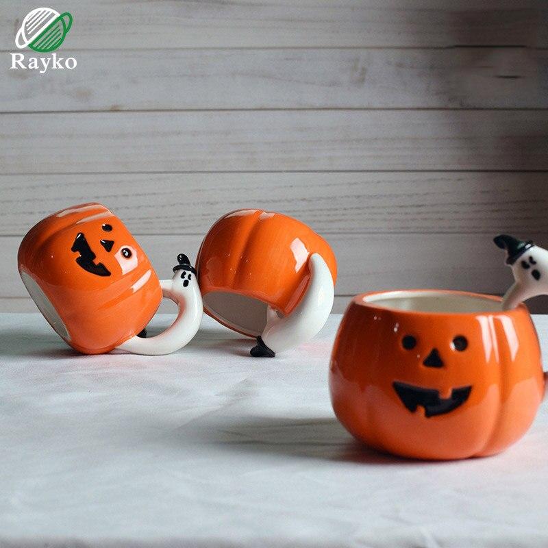Halloween Pompoen Kopen.Kopen Goedkoop Rayko Halloween Pompoen Kopjes Koffie Melk