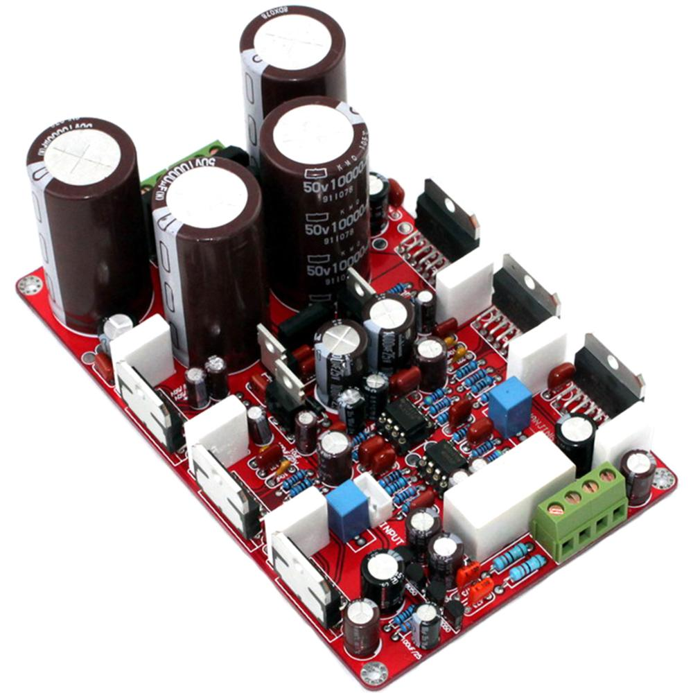 TDA7293 NE5532 250W*2 10000UF/50V*4 Parallel Two-Channel Power Amplifier Board YJ00225