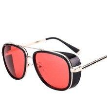 849c2648e9604 ZXTREE carré lunettes de soleil hommes marque Designer unisexe lunettes de soleil  Vintage Punk Superstar mode lunettes fer homme.