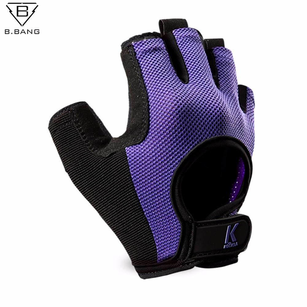 Sport In Gloves: B.BANG Half Finger Fitness Workout Running Gloves Sport