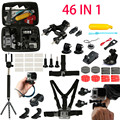 Gopro Accessories Set Chest Head Strap Monopod Floating Bobber Mount for Xiaomi Yi Action Camera Go Pro Hero5 4 3+ Sjcam Sj4000