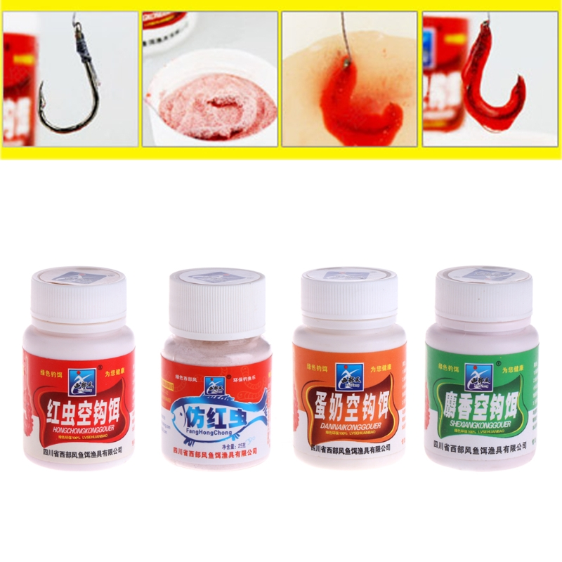 25g Fishing Tackle Carpfish Musk Flavor Additive Red Worm Bait Making Scent Fishing Float Accessories