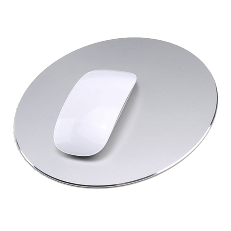 free shipping Aluminum Metal Game anti slip Mouse Pad PC Computer Laptop Gaming Mousepad with one free gift to ship