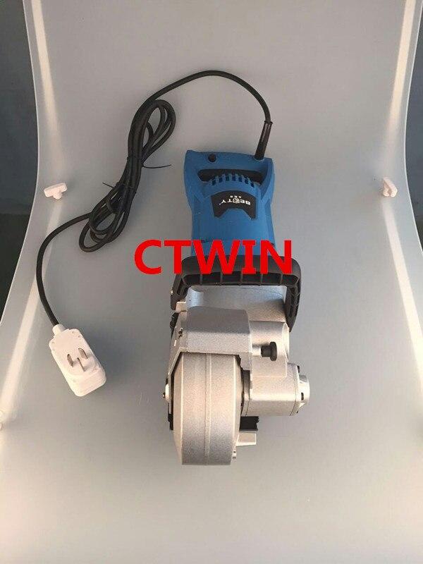 156 mm-es többfunkciós falhorony-vágógép 4800W-os - Csiszolószerszámok - Fénykép 4