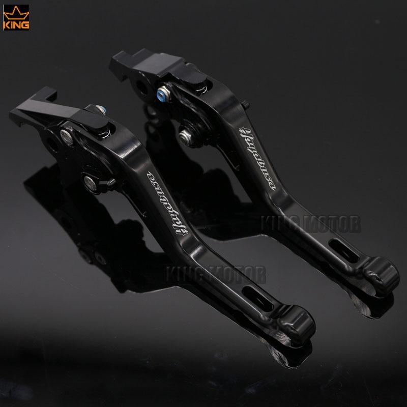 Для Suzuki GSX1300R 2008-2014 аксессуары мотоцикл короткие тормозные рычаги клатч черный