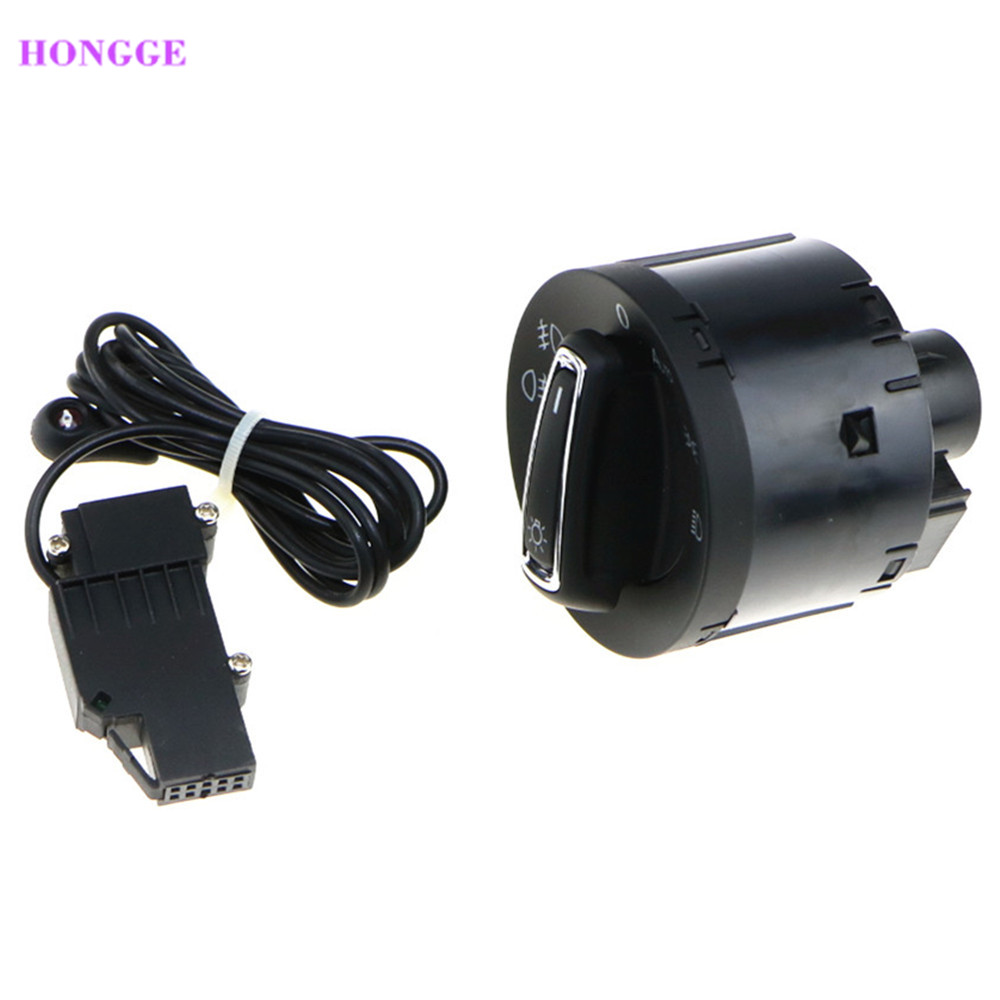 HONGGE VW Golf 7 Chrome Head Light Control Switch Car Headlight Sensor For VW Golf MK7 5GG 941 431 D 5GG941431D smartbook 133s