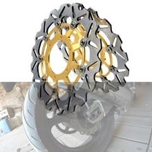 цена на Motorcycle accessories Rear Brake Disc Rotor For Honda CBR600 2007-2013 CBR 600 RR 2003-2014 2008 2009 2010