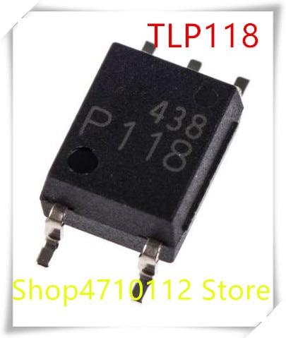 NEW 10PCS/LOT TLP118 P118 SOP-6 PHOTOCOUPLER GaA As Ired PHOTO-IC