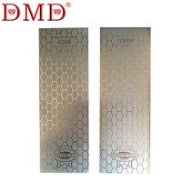 DMD Neue design diamantmesser schärfstein schlittschuhe messer schärfen stein grit 400 1000