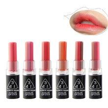3 color waterproof magic lipstick lip balm tint nude batons mate make up lipstick kiss proof long lasting flower lipstick
