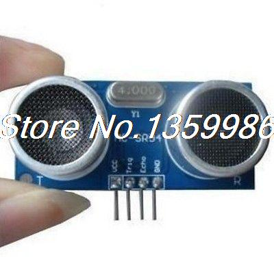 10pcs Ultrasonic Module HC-SR04 Distance Measuring Transducer Sensor for Arduino 50cm 4p double headed dupont line male to male 4pin revolution color connecting line