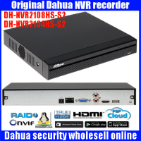 Original Dahua English Firmware 4CH 8ch HDMI FULL HD NVR ONVIF DHI NVR2104HS S2 DHI NVR2108HS