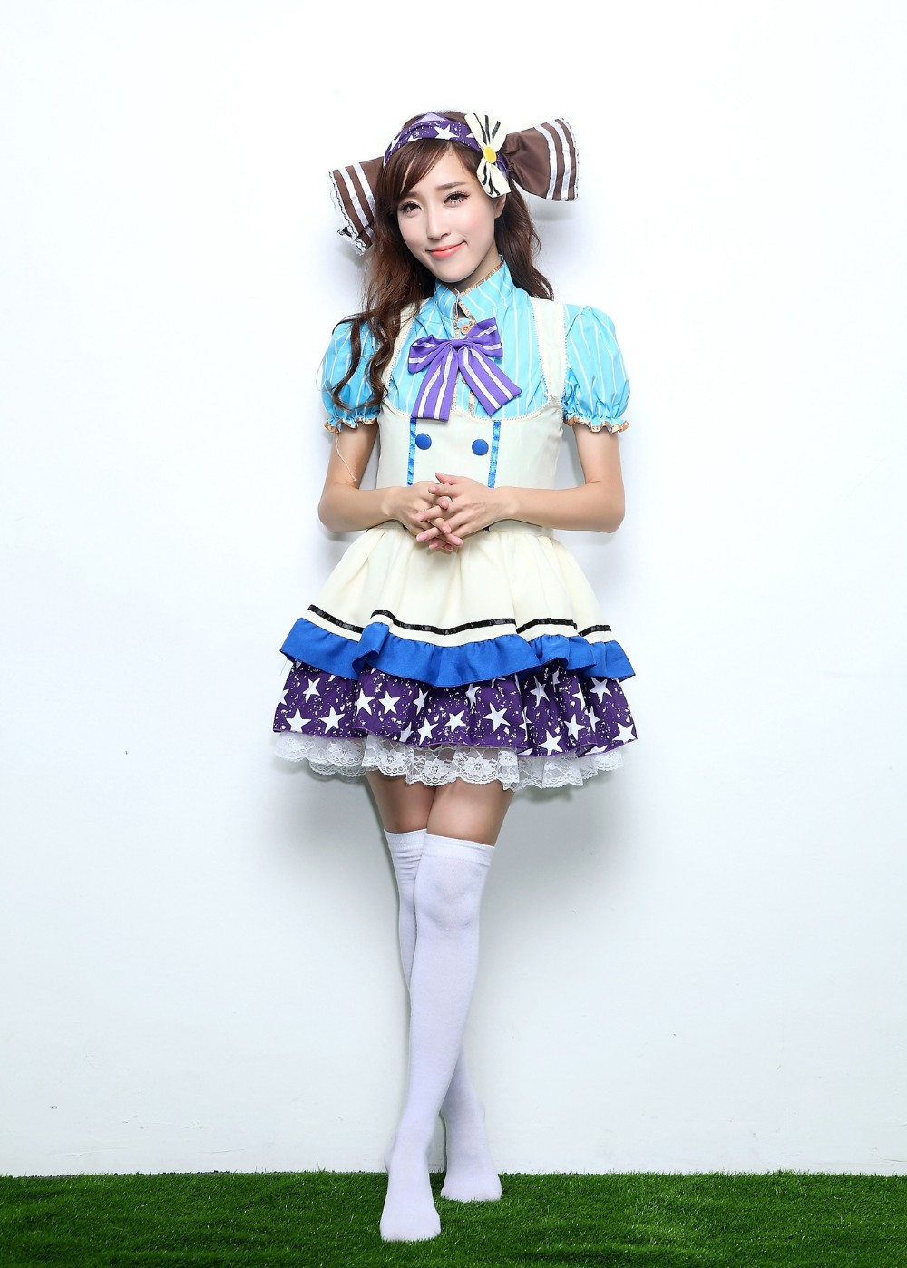 Love Live Sonoda Umi Lolita Cosplay Costumes Girls Fancy Candy Maid Dress School Uniform For Student Japan Cosplay Cloth