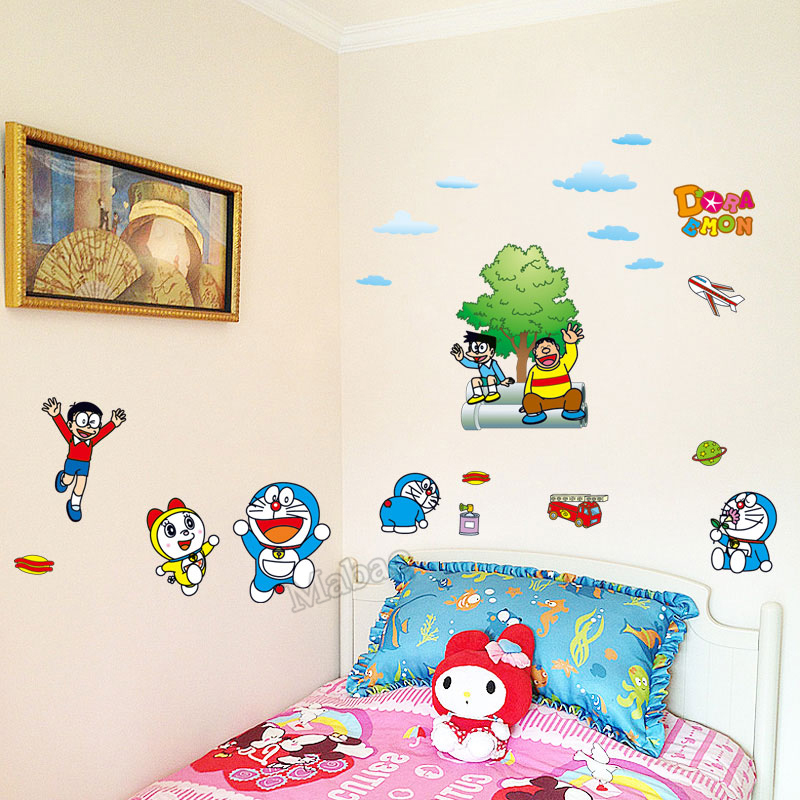 mabao summer style wall sticker for kid room decoration cartoon