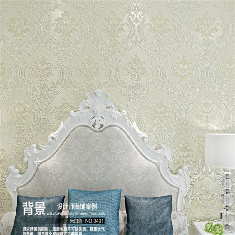 Beibehang Luxury classic wallpaper household adornment gold embossed bedroom sitting room background wall 3d wallpaper rollBeibehang Luxury classic wallpaper household adornment gold embossed bedroom sitting room background wall 3d wallpaper roll