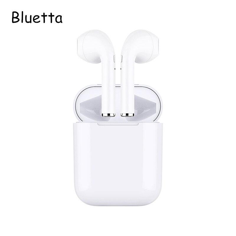 Bluetta Air plus Ture Stereo Senza Fili del Trasduttore Auricolare con Il Mic Hifi Suono Auricolari Senza Fili Bluetooth fone de ouvido per iphone xiaomi