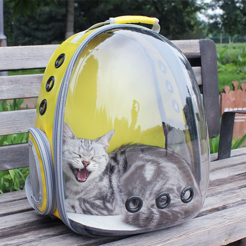 Cat Bag Out Portable Space Capsule Transparent Cat Cage Cat Breathable Chest Shoulder Bag