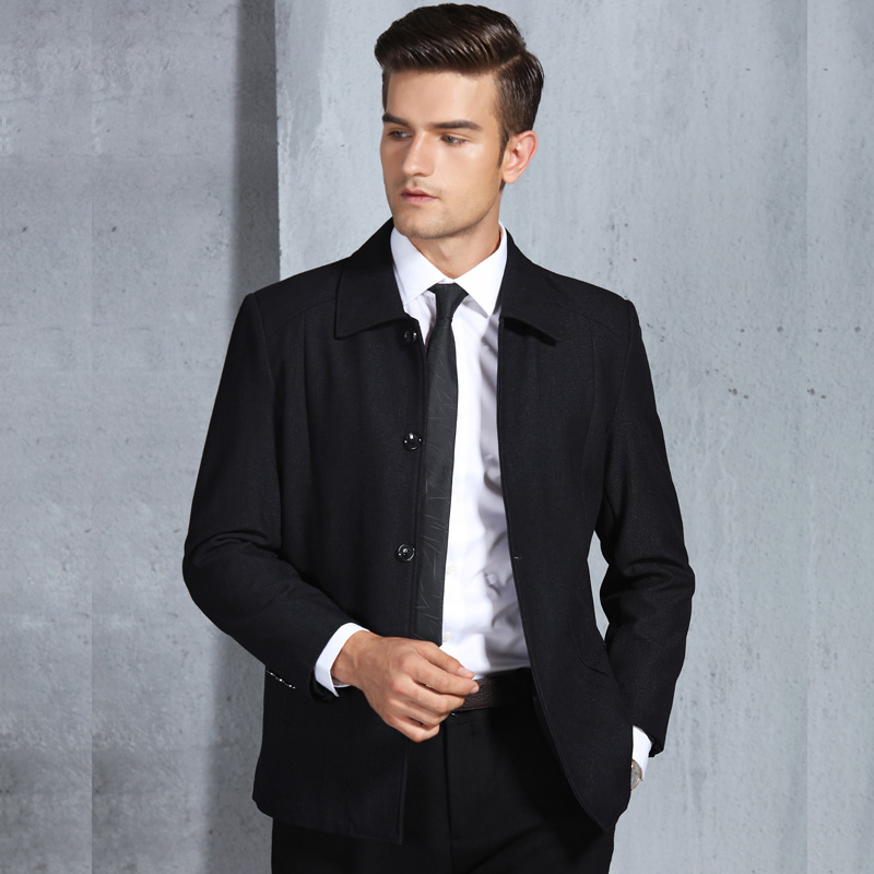 Italian Style Casual Business Suite Jacket Fashion Men's ...