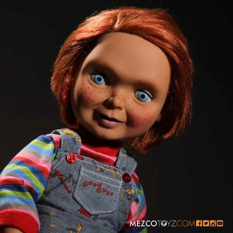 MEZCO 15inch Talking Goeden Chucky Collection Action Figure voor Fans Holiday Gift