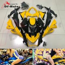 For Kawasaki Z800 2013 ABS Injection Plastics Fairings Kit - 2016 13 14 15 16 Yellow black Bodywork