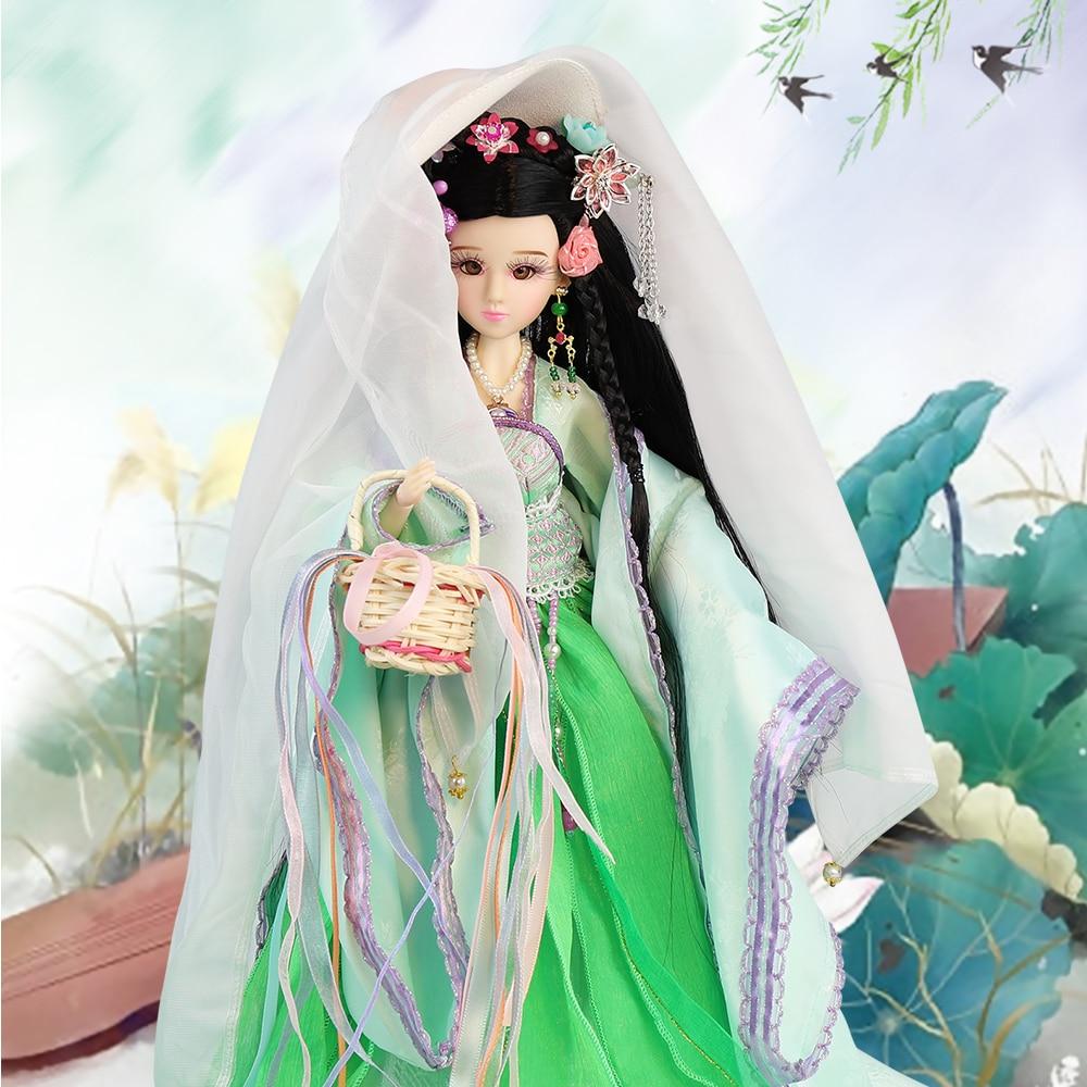 все цены на Fortune Days East Charm doll Ancient China Chenyu 1/6 like BJD Blyth doll with makeup 14 Joint body High Quality gift онлайн