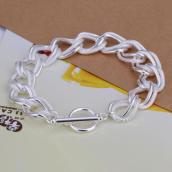 Cut Rate Men S Jewelry 925 Silver Fashion Bracelets Factory Price