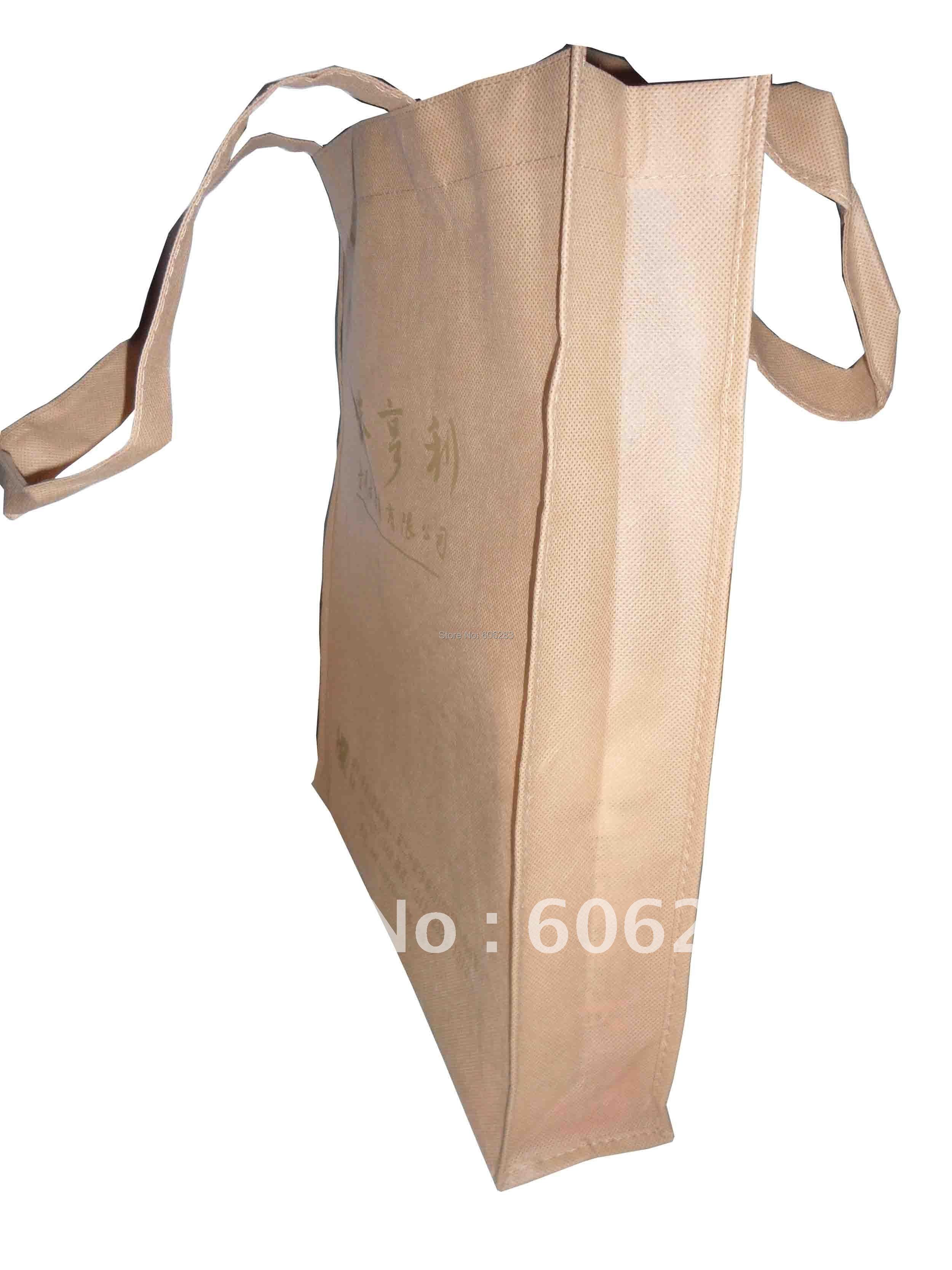 30*35*8 см супермаркет хозяйственная сумка, хозяйственная сумка с собственным логотипом собственного размера