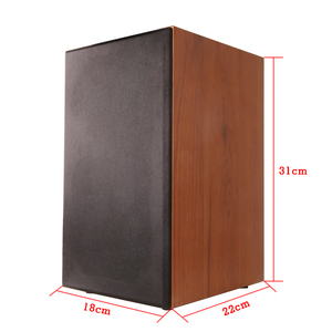 Image 2 - Solid wood 100W 1 to 5 inch bookshelf speaker 2.0 HiFi column audio home professional speaker