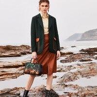 Роза отпечаток бренд пояса из натуральной кожи вместительные сумки дамские сумки диагональные уникальный Винтаж Стиль леди сумки на плечо ...