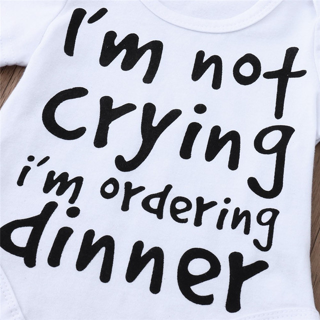 I'm not crying i'm ordering dinner onesie 4