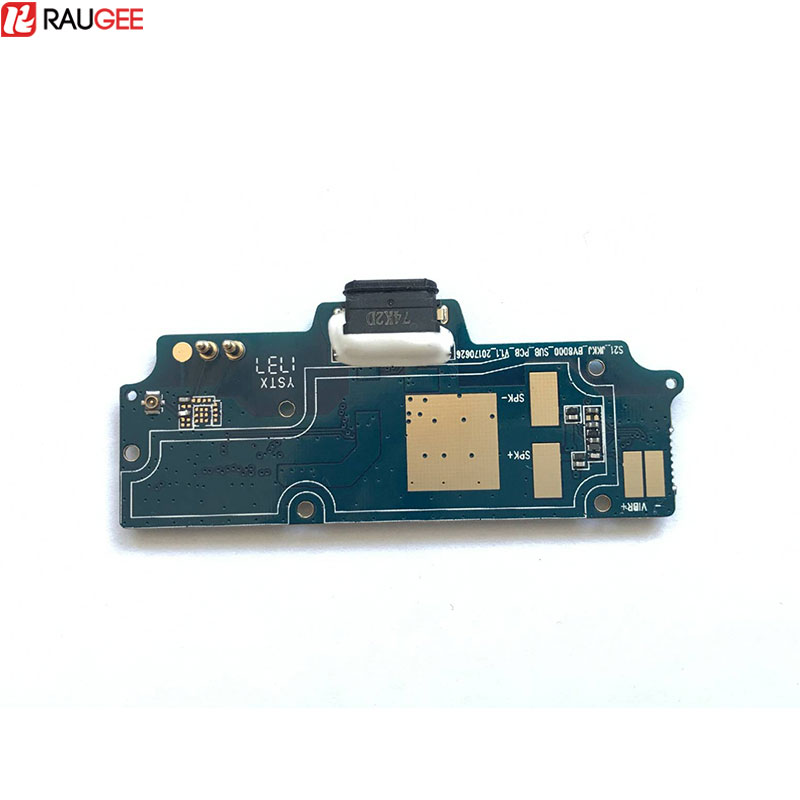 Raugee For Blackview BV8000 Pro USB Board 100% New USB plug Charge Board Replacement Type-C Type C For Blackview BV8000 Pro
