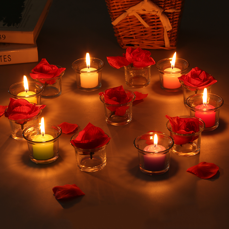 Popular glass candle cups buy cheap glass candle cups lots for Cheap romantic dinner ideas at home