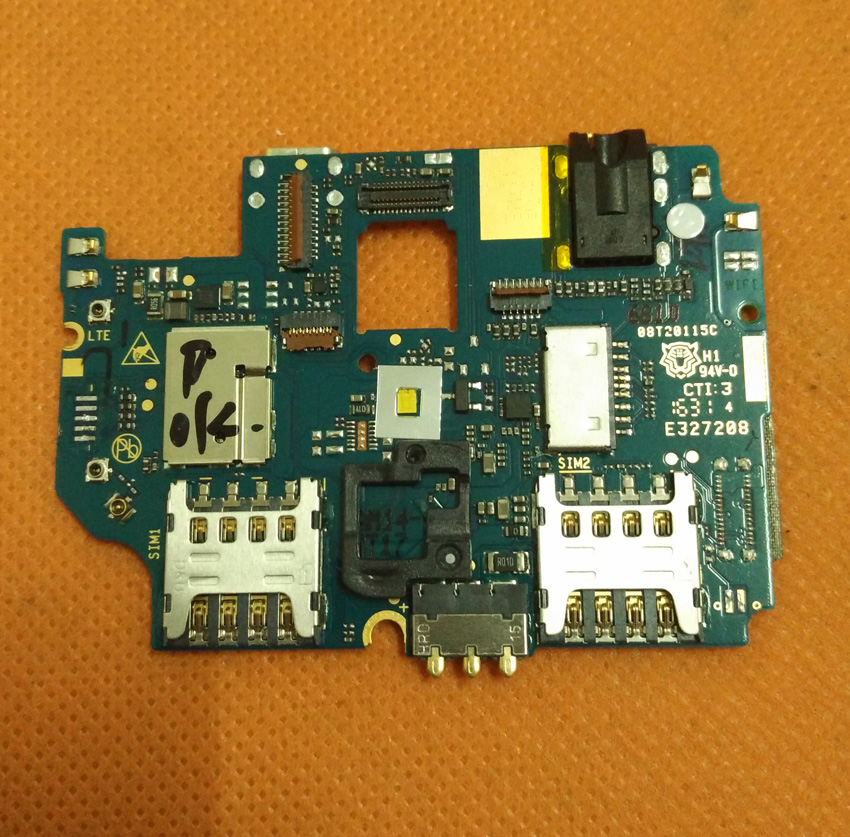 Used Original motherboard 2G+16G mainboard for HOMTOM HT17 Pro 5.5 inch 1280x720 HD MT6737 Quad Core Free Shipping