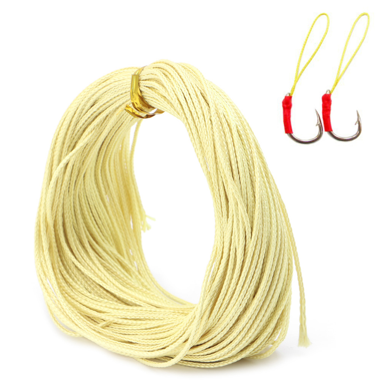 Braided kevlar line kite string to the outdoor sport for Kevlar fishing line