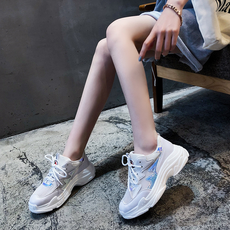 Croix Respirant Calzado Printemps Deportivo 2 1 2018 Sangles Dames Chaussures De Mode Occasionnels Blanc Marque Dentelle Casual vxqzH