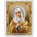 DIY 5D Religion Diamond Switch Kit Embroidery Our Lady Painting Mosaic Needlework Cross Stitch Home Decor Craft 30*40cm-Y102