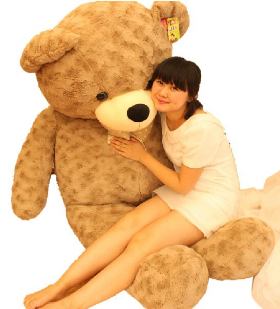 Fancytrader 67\'\' 170cm JUMBO Huge Giant Plush Stuffed Teddy Bear, 3 Colors Available, Free Shipping FT90345 (11)