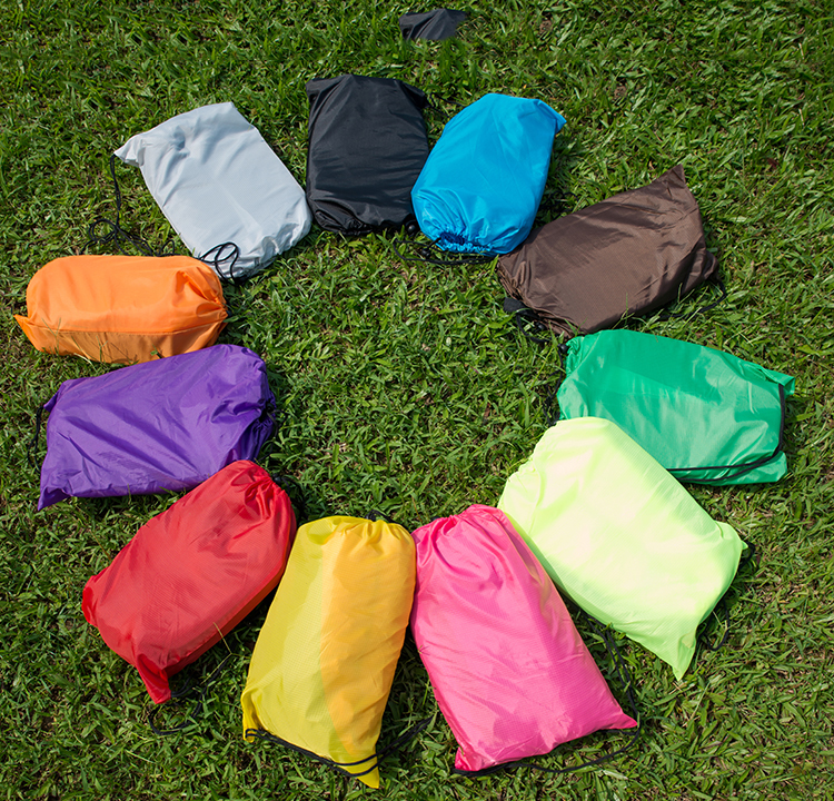 Outdoor <font><b>air</b></font> mattress sleeping bag filling speed portable bed bunk bed lazy heightening thickened picnic barbecue camping