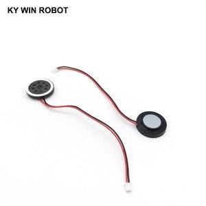 """Image 4 - 2 יחידות חדש אלקטרוני כלב GPS ניווט רמקול צלחת 8R 1 w 8ohm 1 w קוטר 20 מ""""מ 2 ס""""מ עם 1.25 מ""""מ מסוף חוט אורך 10 ס""""מ"""