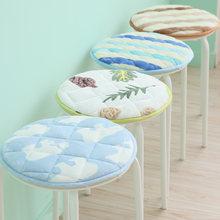 1 шт противоскользящая фланелевая Подушка для стула диаметром